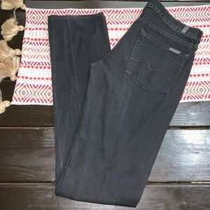 7 For All Mankind Jeans - 7 for all mankind size 28 straight leg